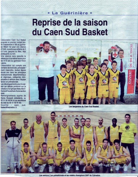 Article Saison 2007-2008